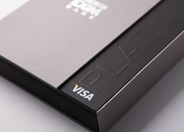 Упаковка для премиальных карт Visa #1