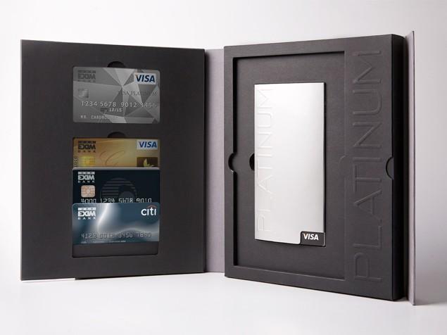 Упаковка для премиальных карт Visa #2
