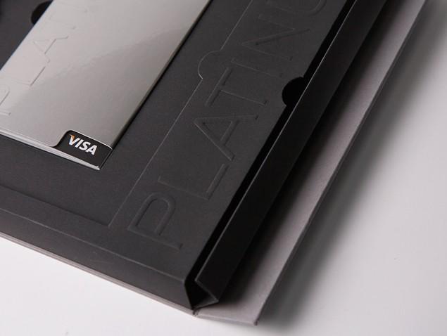 Упаковка для премиальных карт Visa #9